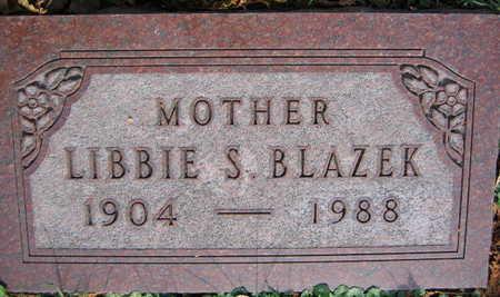BLAZEK, LIBBIE S. - Linn County, Iowa | LIBBIE S. BLAZEK