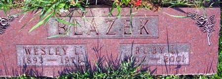 BLAZEK, WESLEY L. - Linn County, Iowa | WESLEY L. BLAZEK
