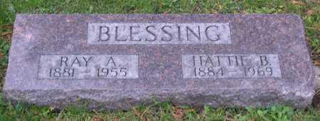 BLESSING, HATTIE B. - Linn County, Iowa | HATTIE B. BLESSING