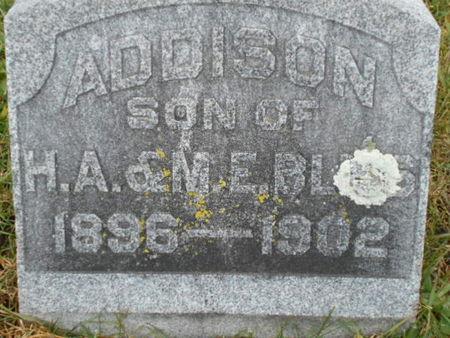 BLISS, ADDISON - Linn County, Iowa | ADDISON BLISS