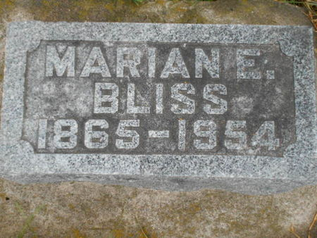 MCLEOD BLISS, MARIAN E. - Linn County, Iowa | MARIAN E. MCLEOD BLISS
