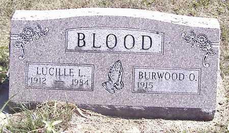 BLOOD, BURWOOD O. - Linn County, Iowa | BURWOOD O. BLOOD