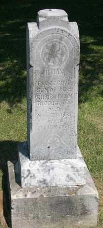BLOODGOOD, WILLIAM F. - Linn County, Iowa   WILLIAM F. BLOODGOOD