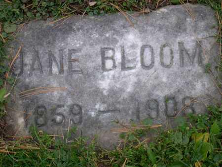 BLOOM, JANE - Linn County, Iowa | JANE BLOOM