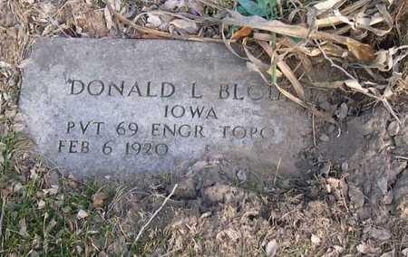 BLOUNT, DONALD L. - Linn County, Iowa | DONALD L. BLOUNT