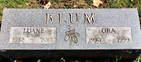 BLUM, ORA - Linn County, Iowa | ORA BLUM