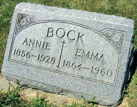BOCK, ANNIE - Linn County, Iowa | ANNIE BOCK