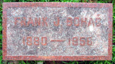 BOHAC, FRANK J. - Linn County, Iowa | FRANK J. BOHAC