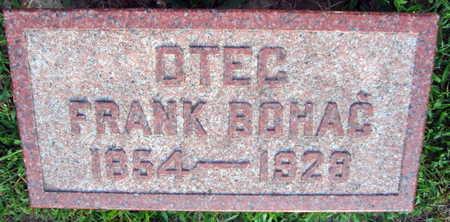 BOHAC, FRANK - Linn County, Iowa | FRANK BOHAC