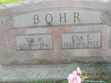 BOHR, EVA E. - Linn County, Iowa   EVA E. BOHR
