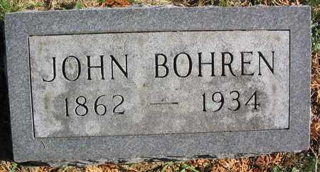 BOHREN, JOHN - Linn County, Iowa   JOHN BOHREN