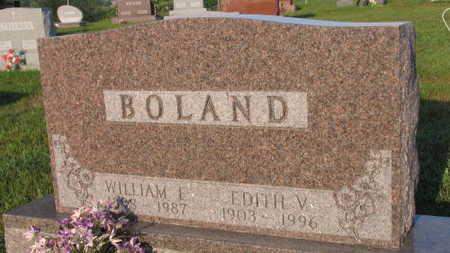 BOLAND, EDITH V. - Linn County, Iowa | EDITH V. BOLAND