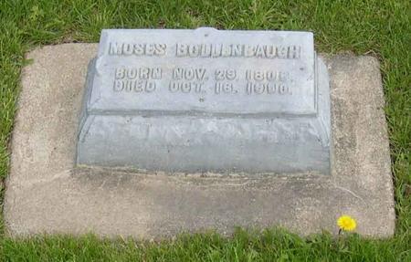 BOLLENBAUGH, MOSES - Linn County, Iowa | MOSES BOLLENBAUGH