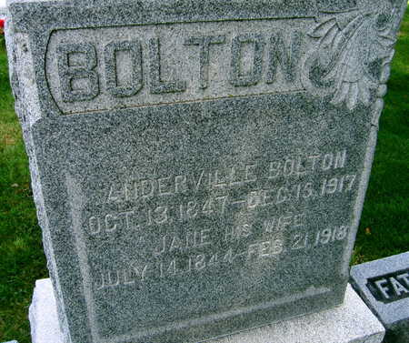 BOLTON, JANE - Linn County, Iowa | JANE BOLTON