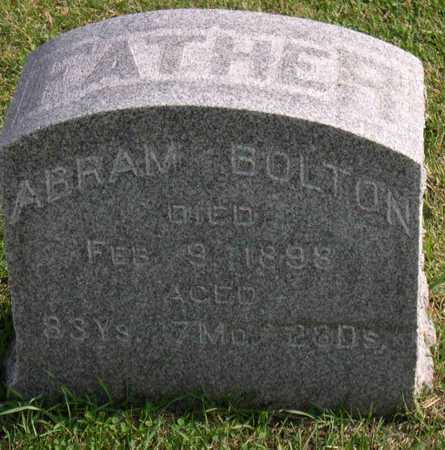 BOLTON, ABRAM - Linn County, Iowa | ABRAM BOLTON