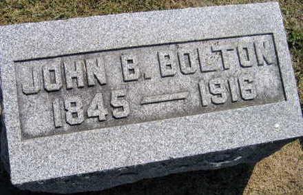 BOLTON, JOHN B. - Linn County, Iowa | JOHN B. BOLTON