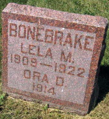 BONEBRAKE, LELA M. - Linn County, Iowa | LELA M. BONEBRAKE