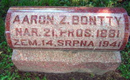 BONTTY, AARON Z. - Linn County, Iowa | AARON Z. BONTTY