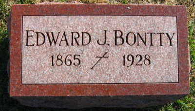 BONTTY, EDWARD J - Linn County, Iowa | EDWARD J BONTTY