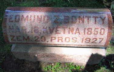 BONTTY, EDMUND Z. - Linn County, Iowa | EDMUND Z. BONTTY