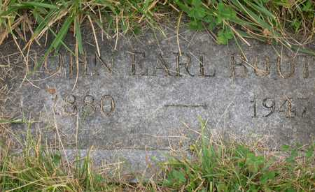 BOOTH, JOHN EARL - Linn County, Iowa | JOHN EARL BOOTH