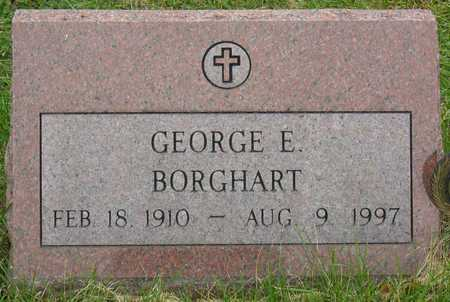 BORGHART, GEORGE E. - Linn County, Iowa | GEORGE E. BORGHART