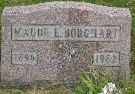 BORGHART, MAUDE L. - Linn County, Iowa | MAUDE L. BORGHART