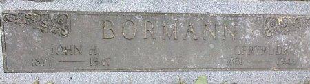 BORMANN, GERTRUDE - Linn County, Iowa | GERTRUDE BORMANN