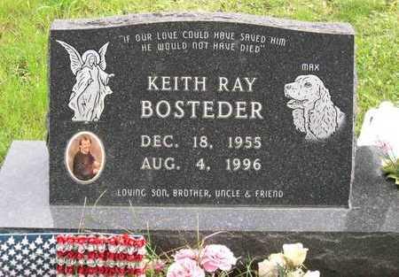 BOSTEDER, KEITH RAY - Linn County, Iowa | KEITH RAY BOSTEDER