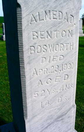 BOSWORTH, ALMEDAD - Linn County, Iowa | ALMEDAD BOSWORTH