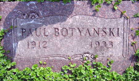 BOTYANSKI, PAUL - Linn County, Iowa | PAUL BOTYANSKI