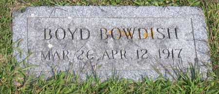 BOWDISH, BOYD - Linn County, Iowa | BOYD BOWDISH
