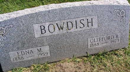 BOWDISH, EDNA M. - Linn County, Iowa | EDNA M. BOWDISH