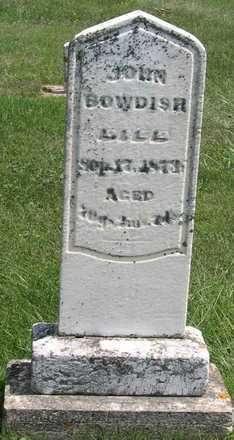 BOWDISH, JOHN - Linn County, Iowa | JOHN BOWDISH