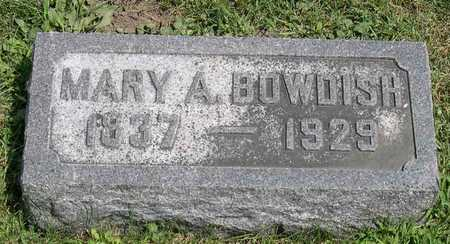 BOWDISH, MARY A. - Linn County, Iowa | MARY A. BOWDISH