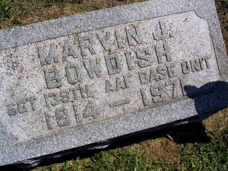 BOWDISH, MARVIN J. - Linn County, Iowa | MARVIN J. BOWDISH