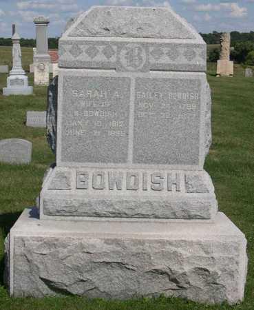 BOWDISH, SARAH A. - Linn County, Iowa | SARAH A. BOWDISH
