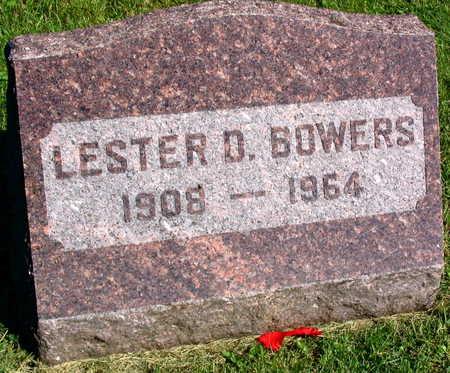 BOWERS, LESTER D. - Linn County, Iowa | LESTER D. BOWERS