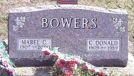 BOWERS, C. DONALD - Linn County, Iowa | C. DONALD BOWERS