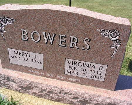 BOWERS, VIRGINIA R. - Linn County, Iowa | VIRGINIA R. BOWERS