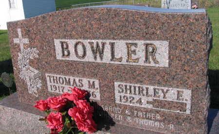 BOWLER, THOMAS M. - Linn County, Iowa | THOMAS M. BOWLER