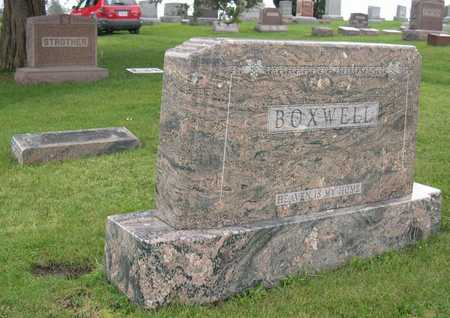 BOXWELL, FAMILY STONE - Linn County, Iowa | FAMILY STONE BOXWELL