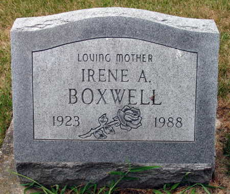BOXWELL, IRENE A. - Linn County, Iowa | IRENE A. BOXWELL
