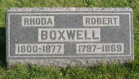 BOXWELL, ROBERT - Linn County, Iowa | ROBERT BOXWELL