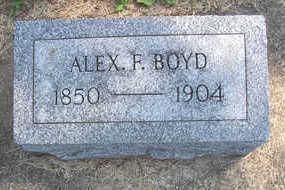 BOYD, ALEX F. - Linn County, Iowa | ALEX F. BOYD