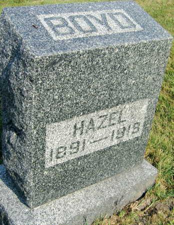 BOYD, HAZEL - Linn County, Iowa | HAZEL BOYD