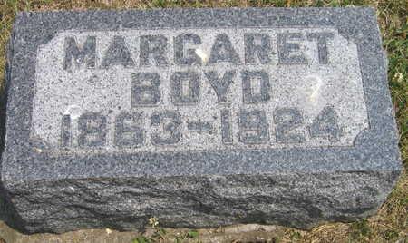 BOYD, MARGARET - Linn County, Iowa   MARGARET BOYD