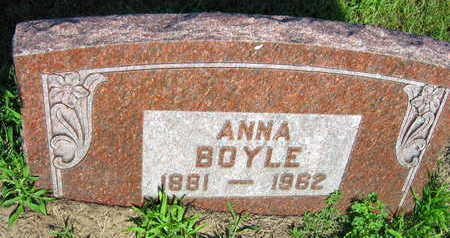 BOYLE, ANNA - Linn County, Iowa   ANNA BOYLE