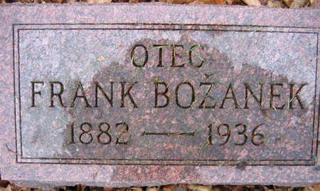 BOZANEK, FRANK - Linn County, Iowa | FRANK BOZANEK