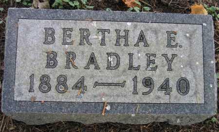 BRADLEY, BERTHA E. - Linn County, Iowa | BERTHA E. BRADLEY